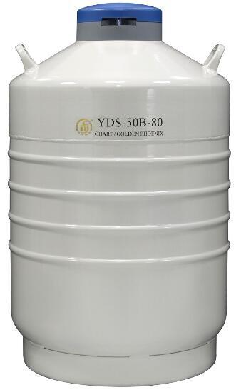 成都金凤运输型液氮生物容器YDS-50B-80
