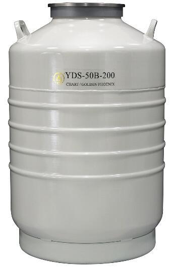 成都金凤运输型液氮生物容器YDS-50B-200(不含提筒)