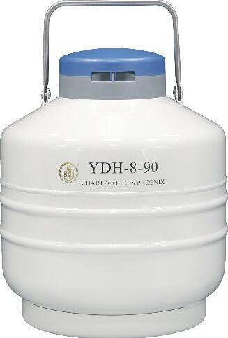 成都金凤航空运输型液氮生物容器YDH-8-90