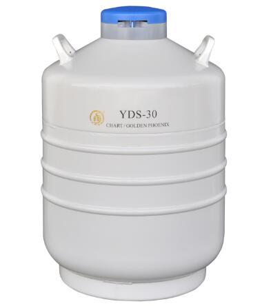 成都金凤进口液氮罐 型号:YDS-30