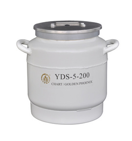 东亚液氮罐 型号:YDS-5-200