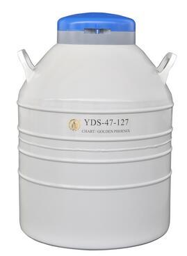 成都金凤配多层方提筒液氮罐YDS-47-127