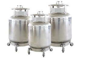 成都金凤自增压液氮生物容器